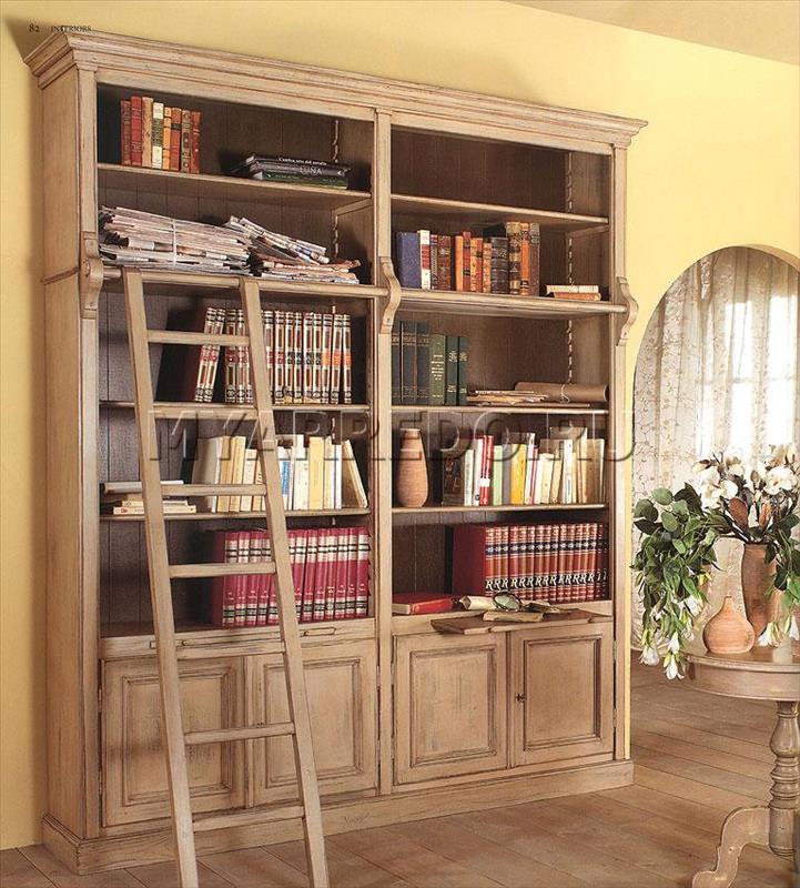 Книжный шкаф moda mobili - interiors maison de provence pr31.