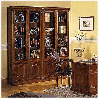 Книжный шкаф mirandola castel vecchio m467. купить в москве.