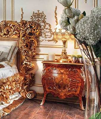 Тумбочка ASNAGHI INTERIORS Gold2 GD7203