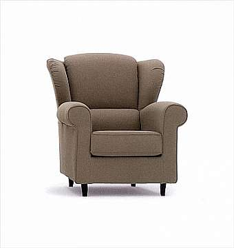 Кресло ALBERTA SALOTTI Armchair & Chaise Longue Collection PCS