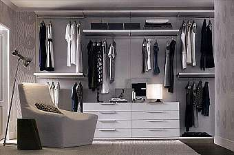 Гардеробная JESSE SPA Plurimo sistema armadi Walk-in-closet-3