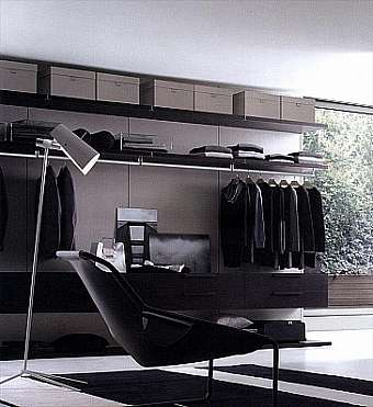Гардеробная JESSE SPA Plurimo sistema armadi Walk-in-closet