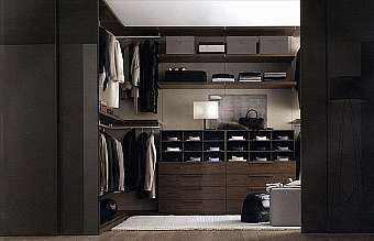 Гардеробная JESSE SPA Plurimo sistema armadi Walk-in-closet-6