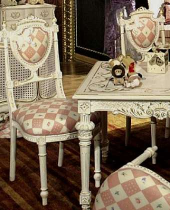 Стул ASNAGHI INTERIORS Luxury LC1706